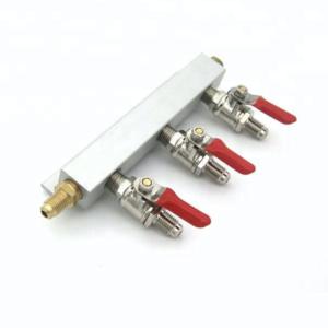 3 Way Gas Manifold